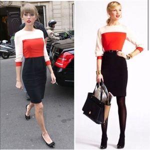 "Kate Spade ""Parker"" colorblock dress 4"